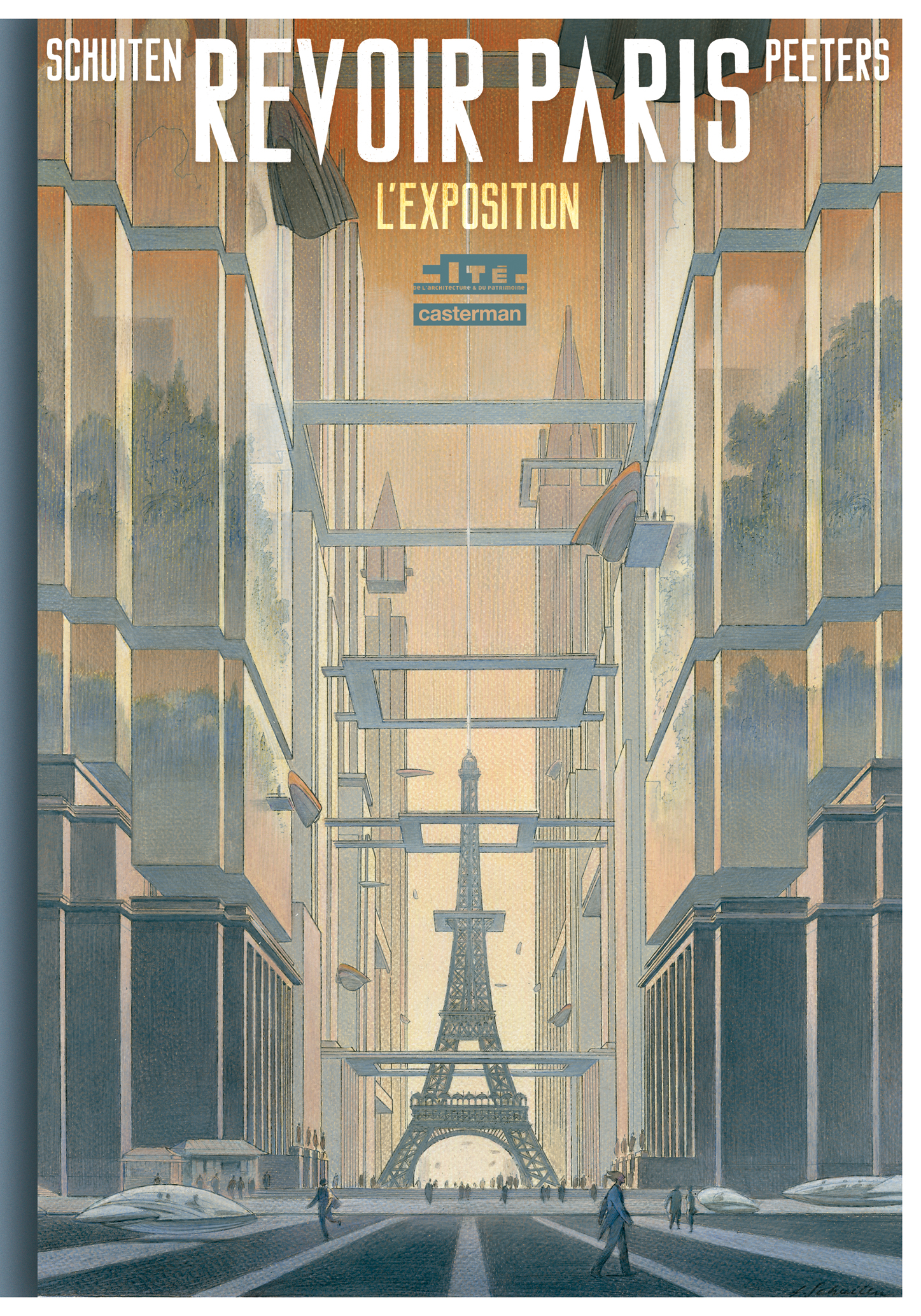 Cover of Revoir Paris l'Exposition
