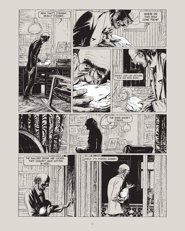 Image result for Theory of a Grain of Sand Francois Schuiten