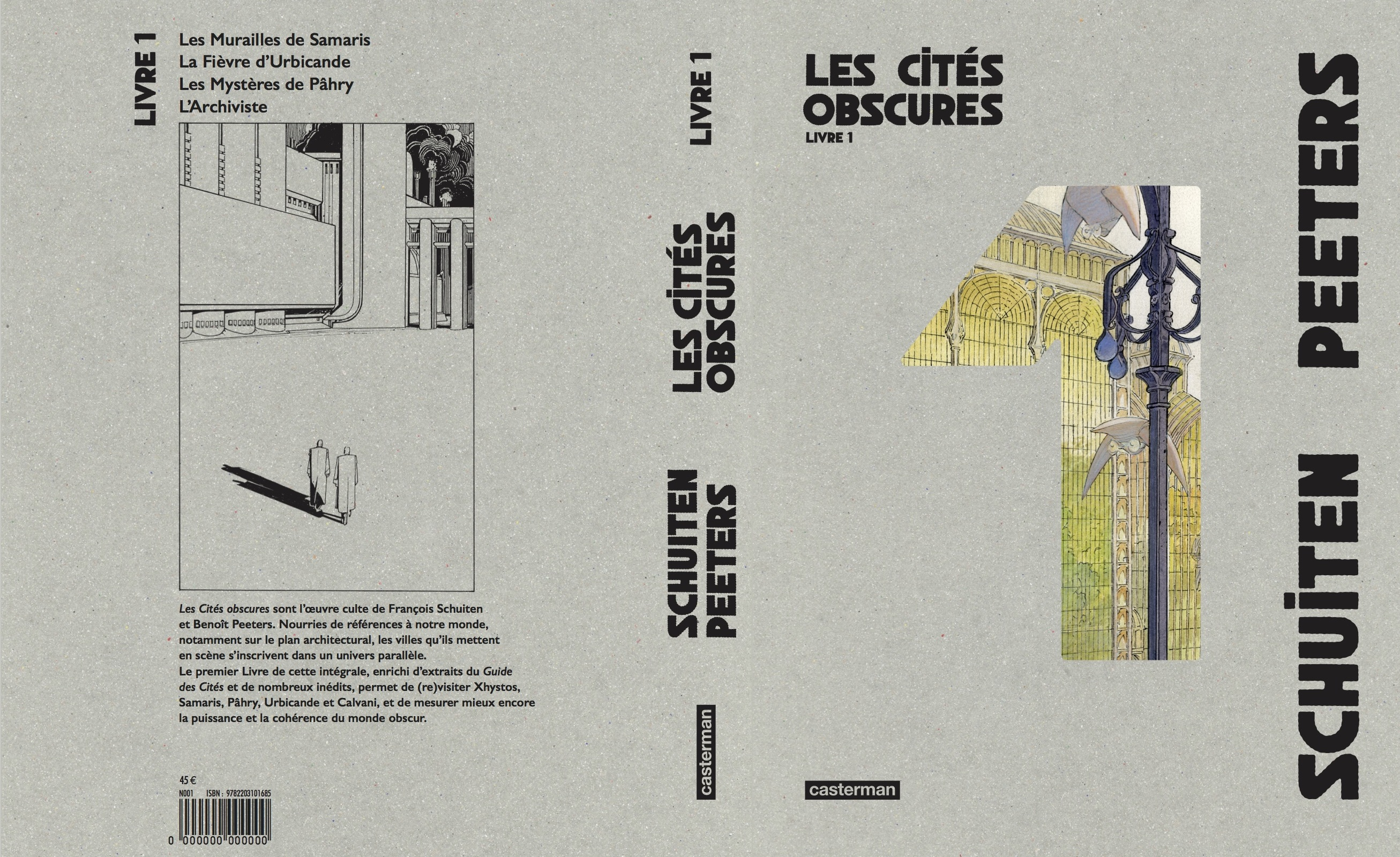 Les Cités obscures Livre 1 by François Schuiten and Benoît Peeters