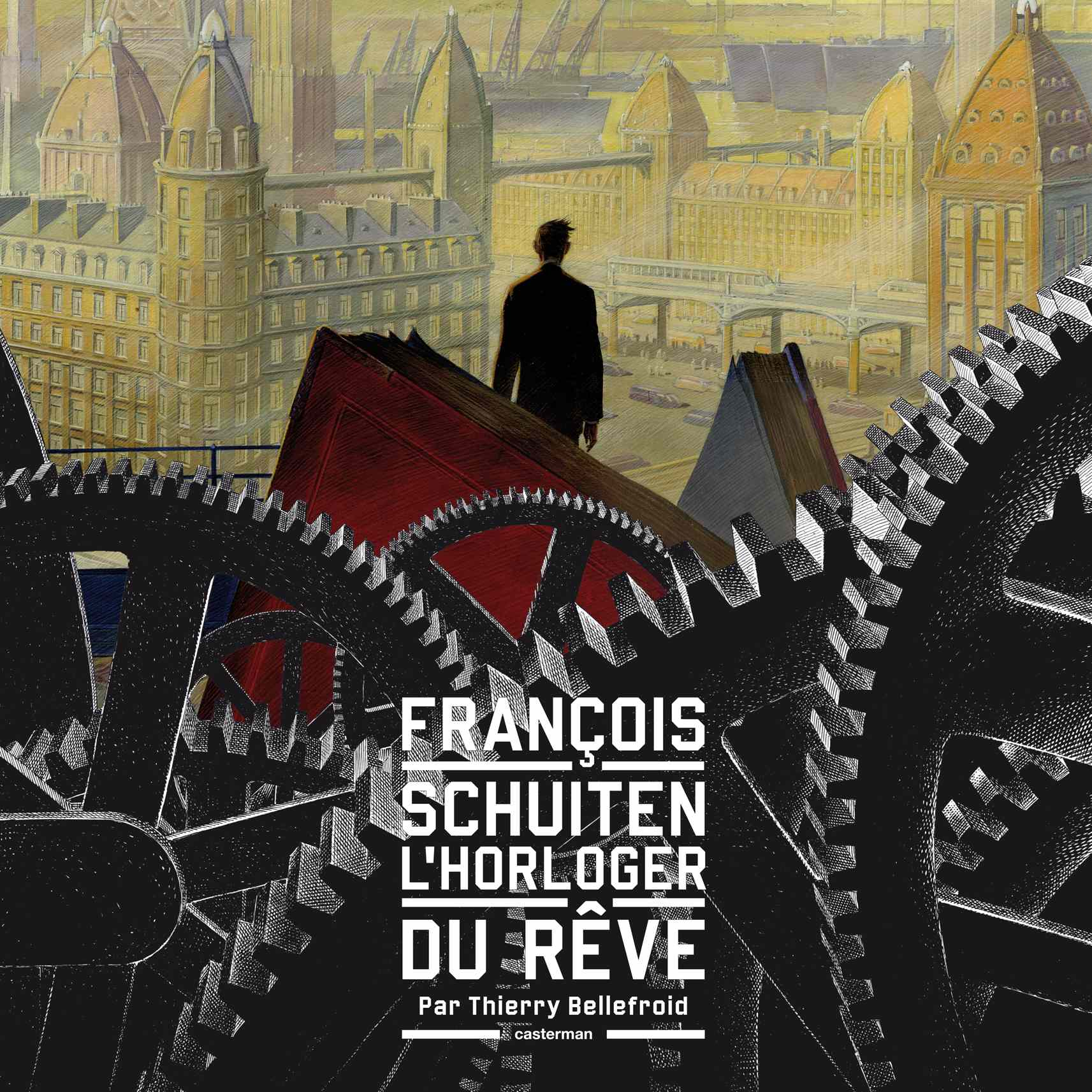 Front cover for **François Schuiten, //l'Horloger du rêve//**
