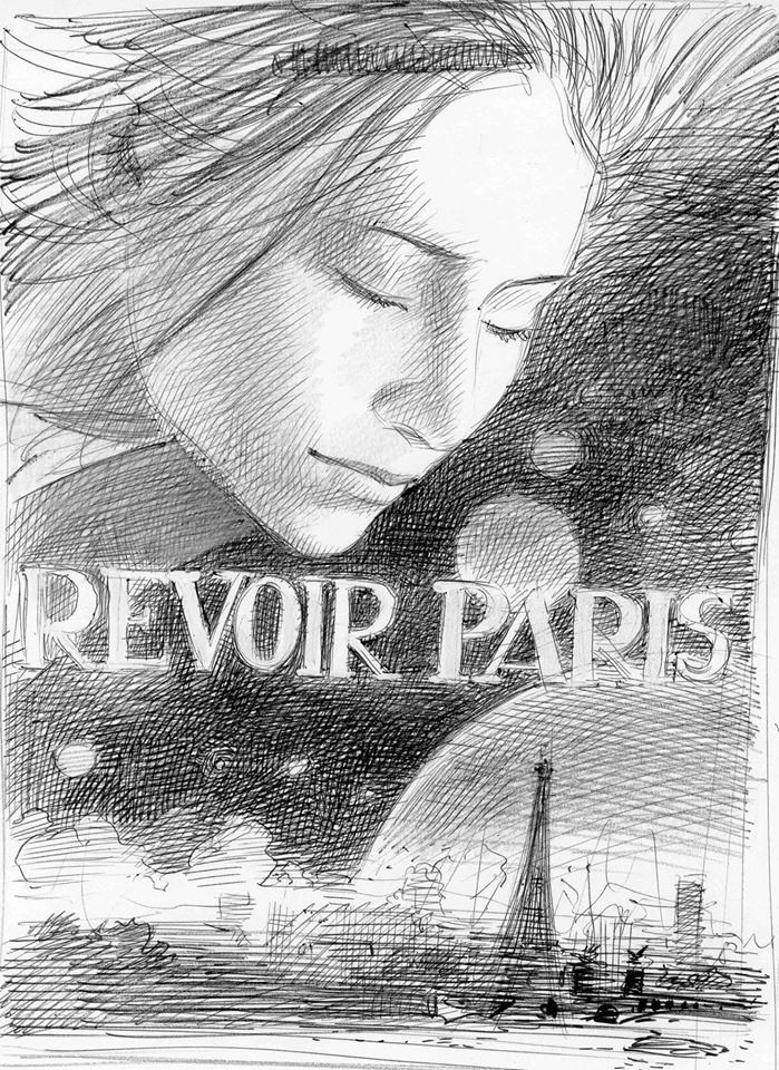 first sketch Revoir Paris