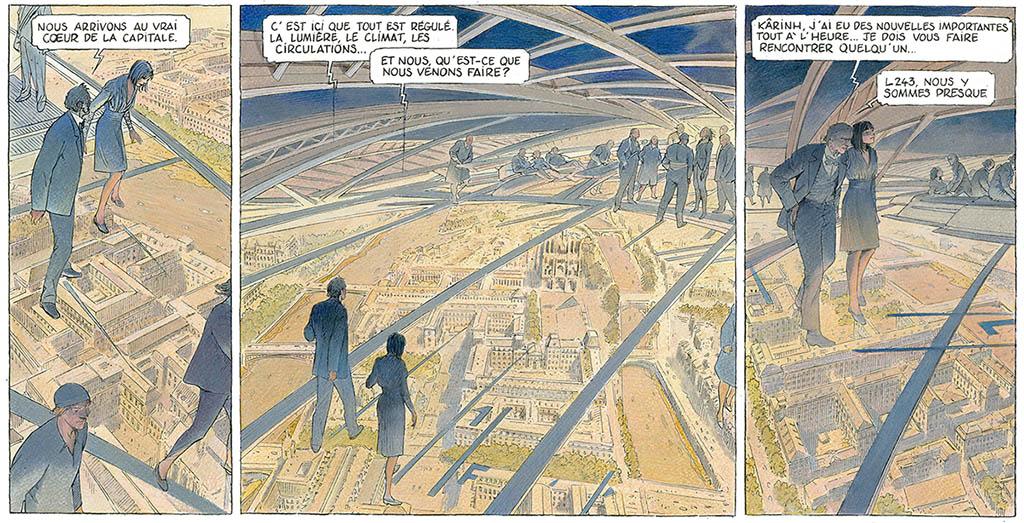 Revoir Paris t2 by Schuiten and Peeters