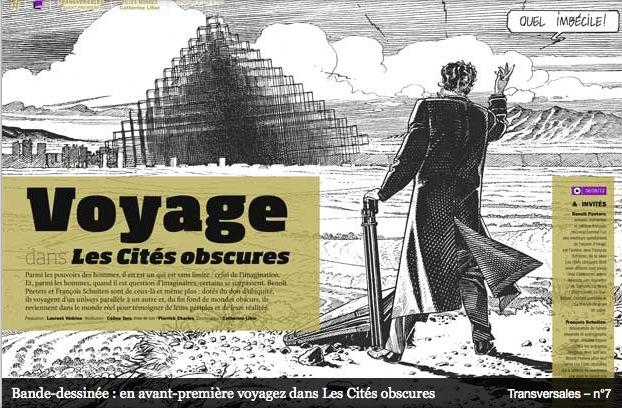 Schuiten and Peeters in France Culture Papiers