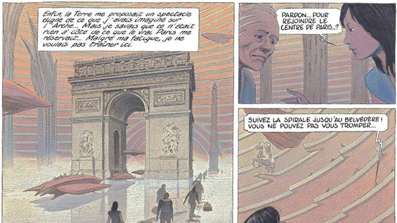 Le Paris fantasmé de François Schuiten et Benoît Peeters