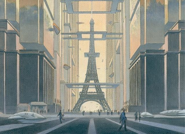 Schuiten et Peeters fantasment Paris