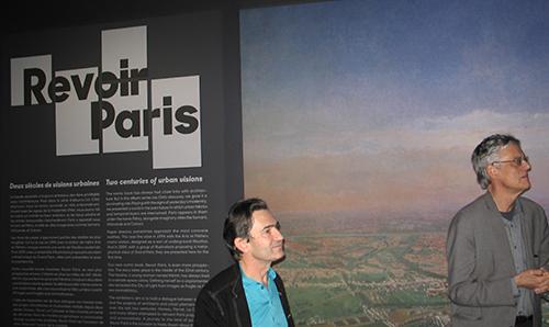 François Schuiten s'expose à Paris pour Revoir Paris