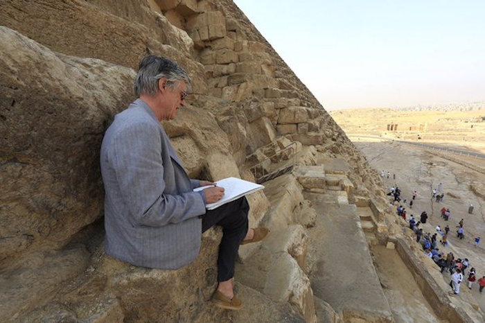 Crédit : Philippe Bourseiller pour HIP.Institute / ministères égyptien des antiquités / Faculté des ingénieurs du Caire
