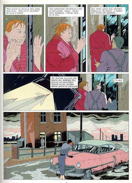 """""""Dolores"""" d'Anne Baltus, Schuiten & Peeters."""