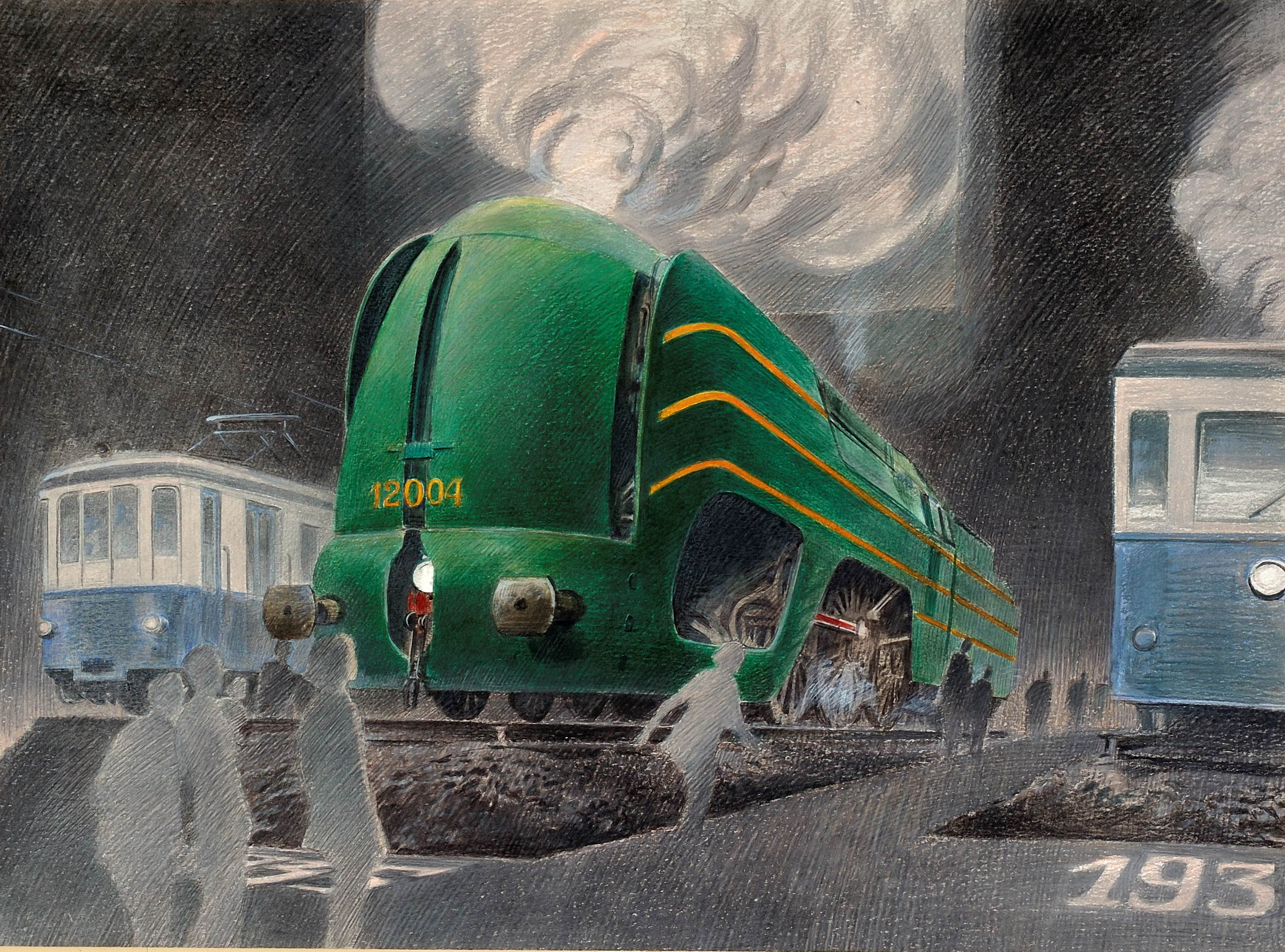 Train World acquires images by Schuiten