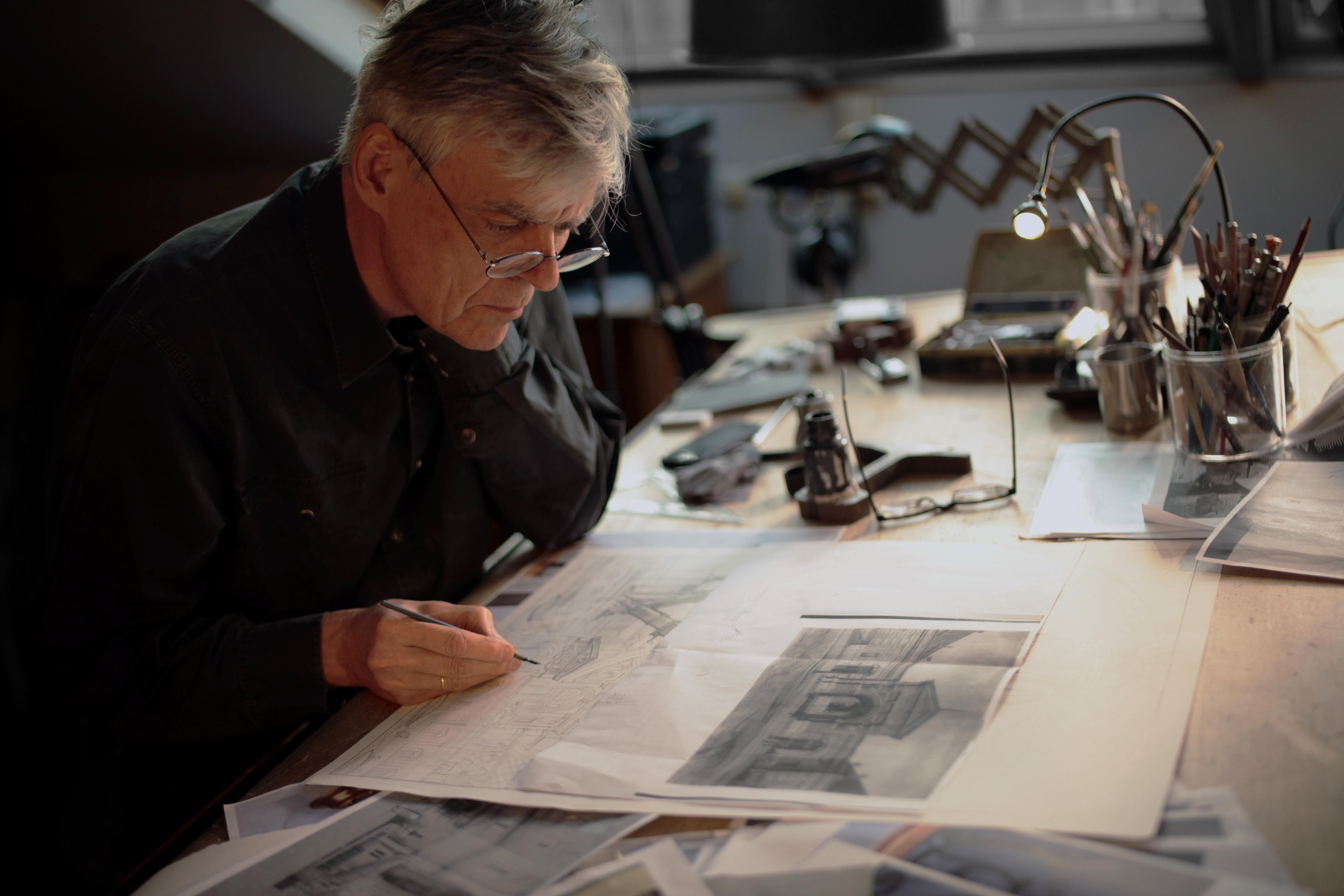 """Vladimir Peeters - L'exposition """"Machines à dessiner"""" se tient au Musée des Arts et métiers"""""""