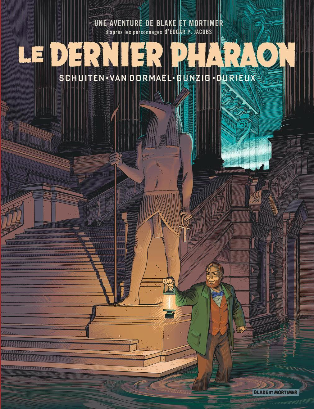 Le dernier pharaon © éditions Blake et Mortimer