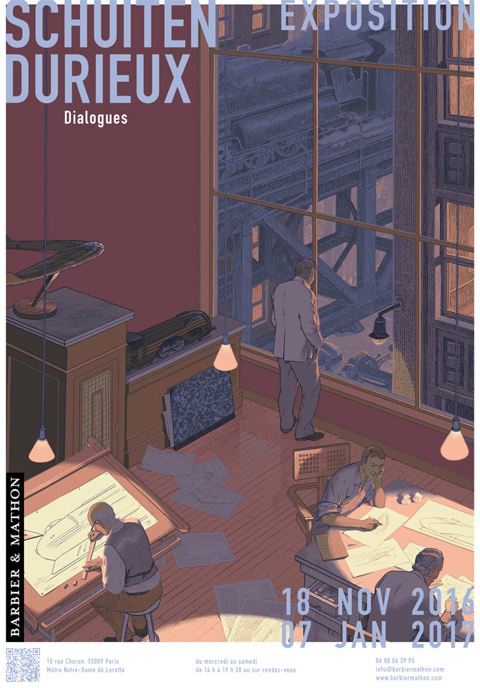 Dialogues by Schuiten and Durieux