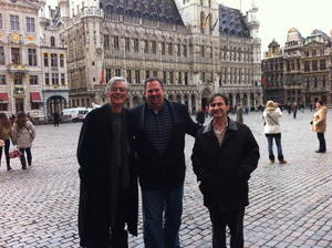 Stephen Smith met Schuiten and Peeters in February 2013