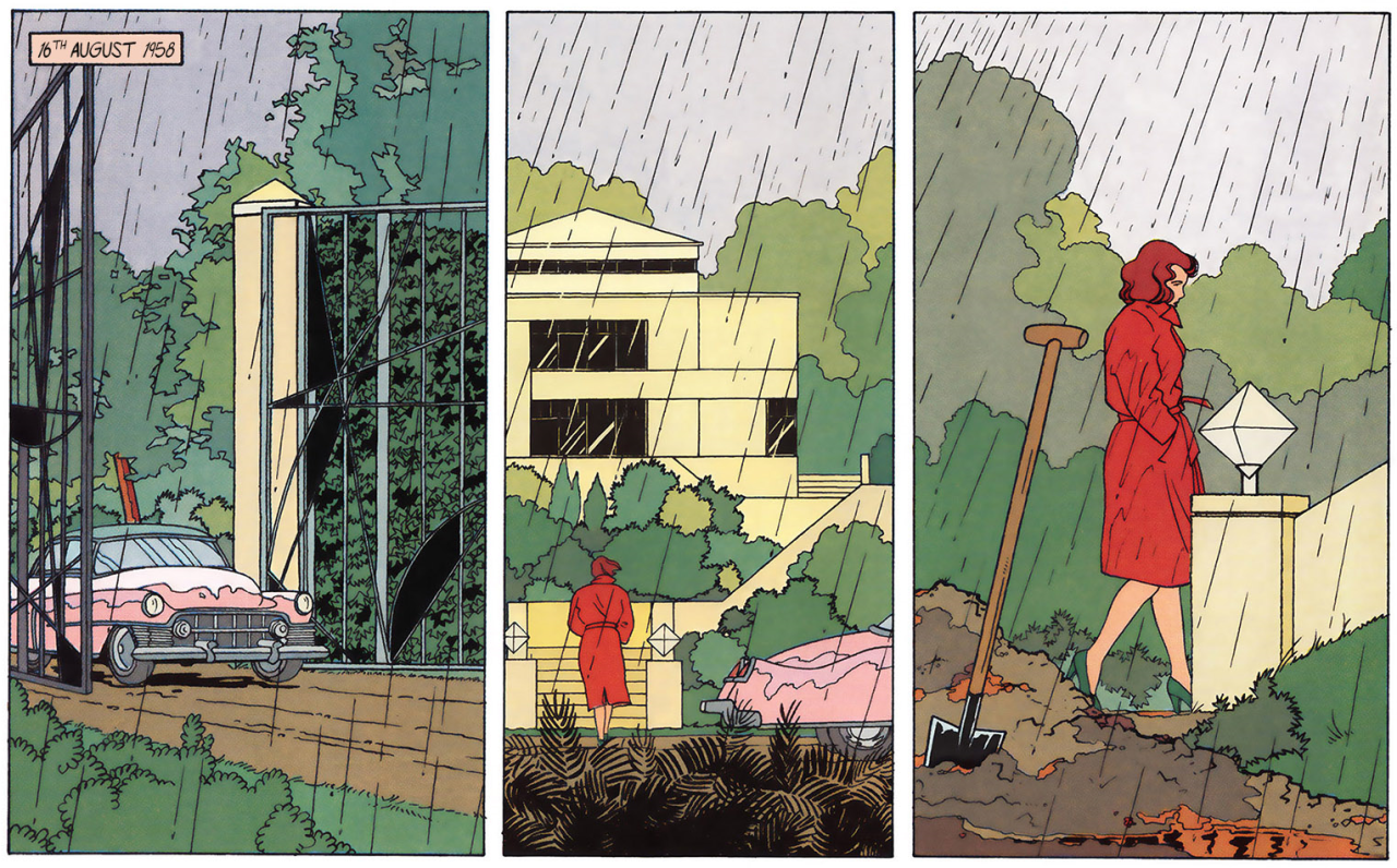 Scene from Dolores by Baltus, Peeters and Schuiten