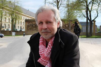 Thierry Bellefroid, en avril dernier au Festival Le Livre à Metz (ActuaLitté, CC BY SA 2.0)