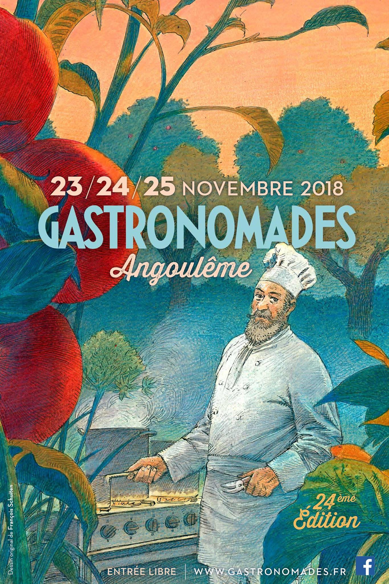Gastronomades 2018 by François Schuiten