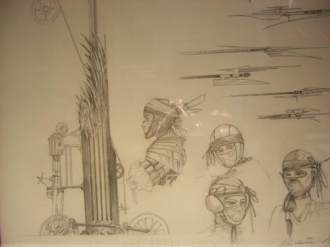 sketch of Gwendoline
