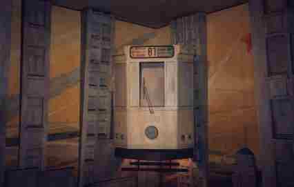 tram 81 in Brussels
