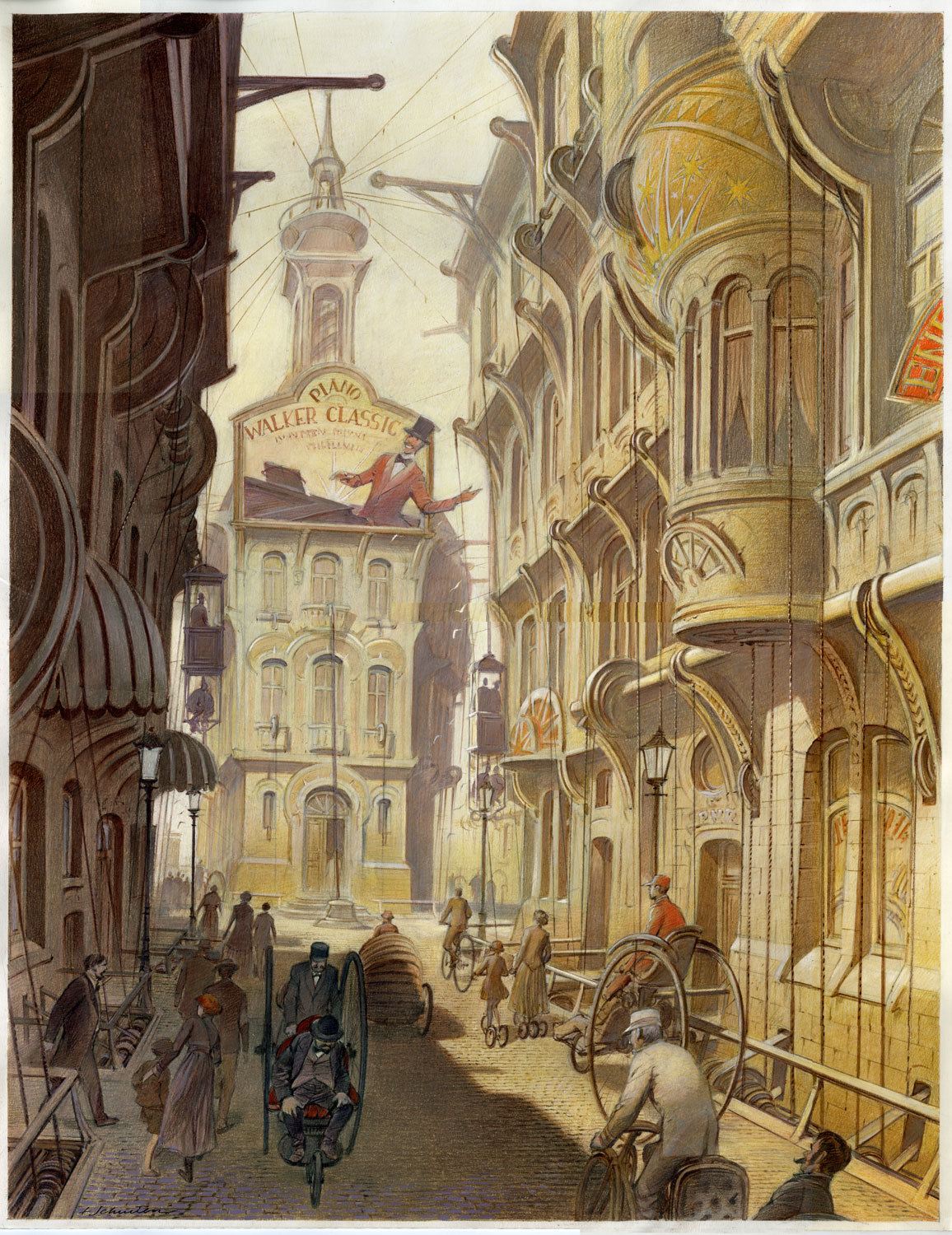 Walker classic francois schuiten benoit peeters for Art et decoration pdf