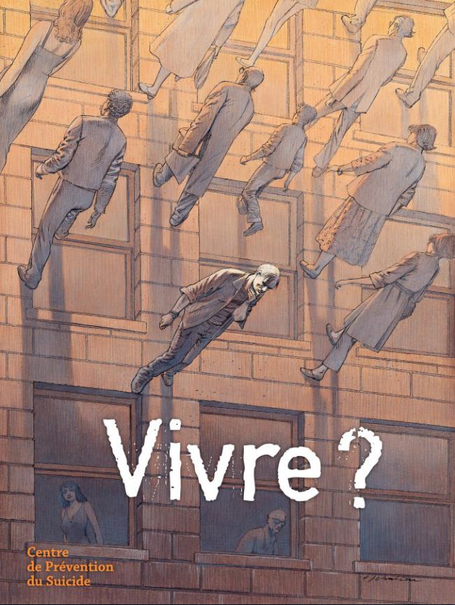Cover Vivre? by François Schuiten