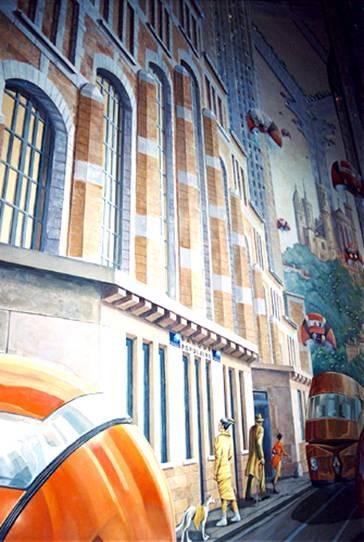 Fresque Schuiten à Lyon