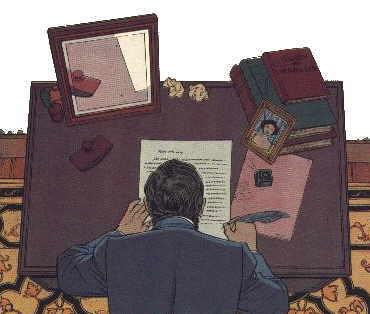 Letter by Alphonse Postelieu