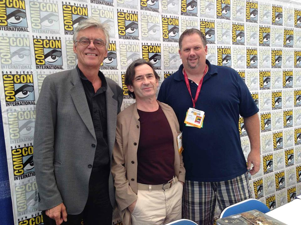 François Schuiten and Benoît Peeters at San Diego Comic Con 2014