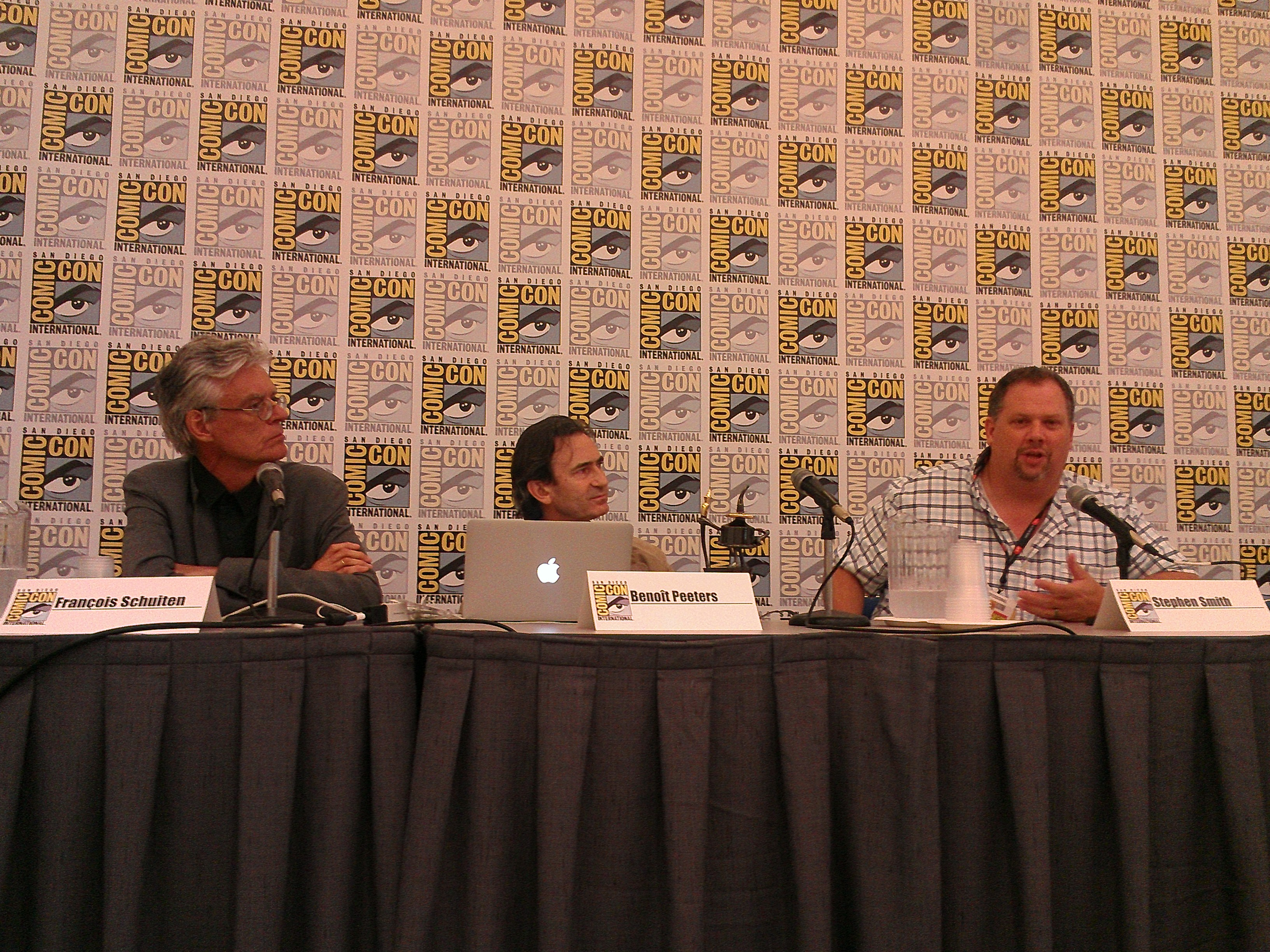 Comic-Con Panel with François Schuiten and Benoît Peeters