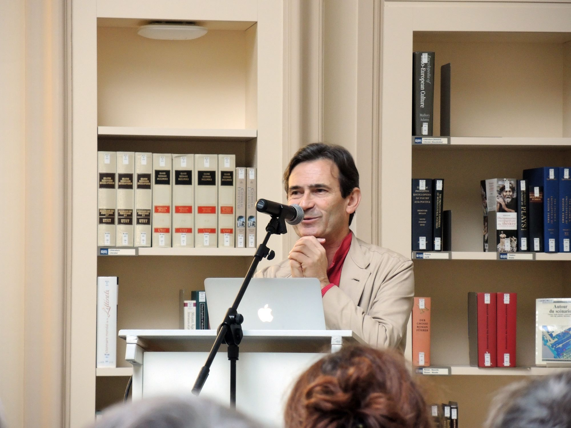 Benoît Peeters in Fribourg