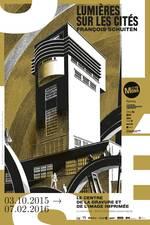 Lumières sur les Cités announcement poster by François Schuiten