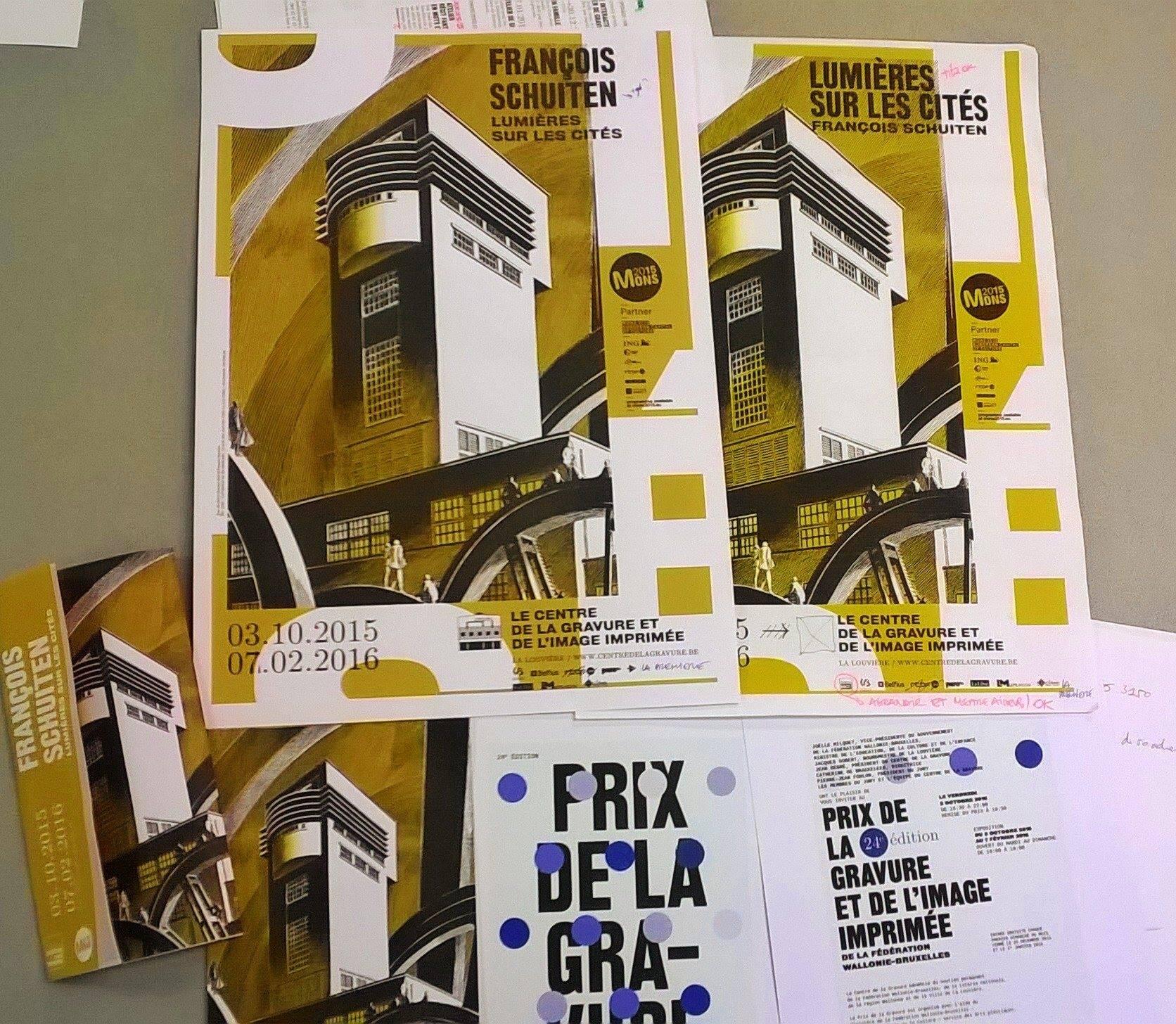 Tryout of leaflets of Lumières sur les Cités
