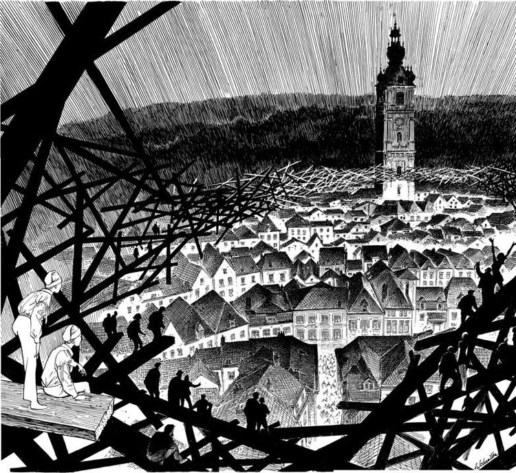 Design by Schuiten for Mons 2015