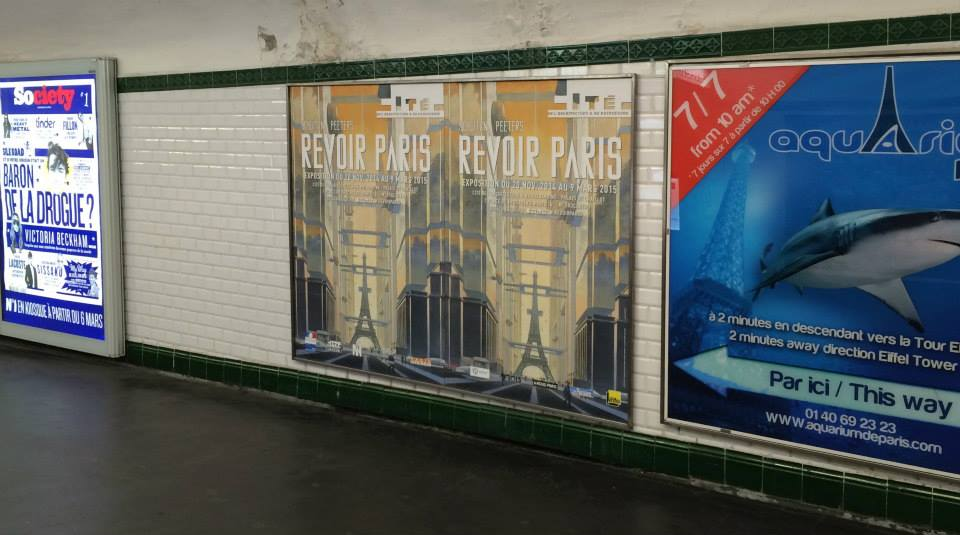 Revoir Paris by Schuiten & Peeters