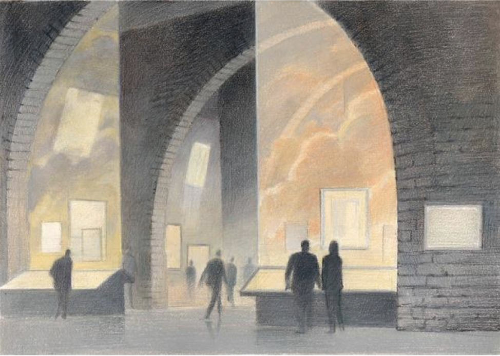 Design for Revoir Paris by François Schuiten