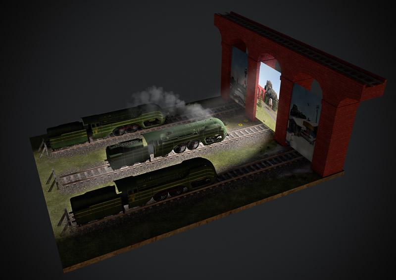 De wereld van de trein 2014 by François Schuiten