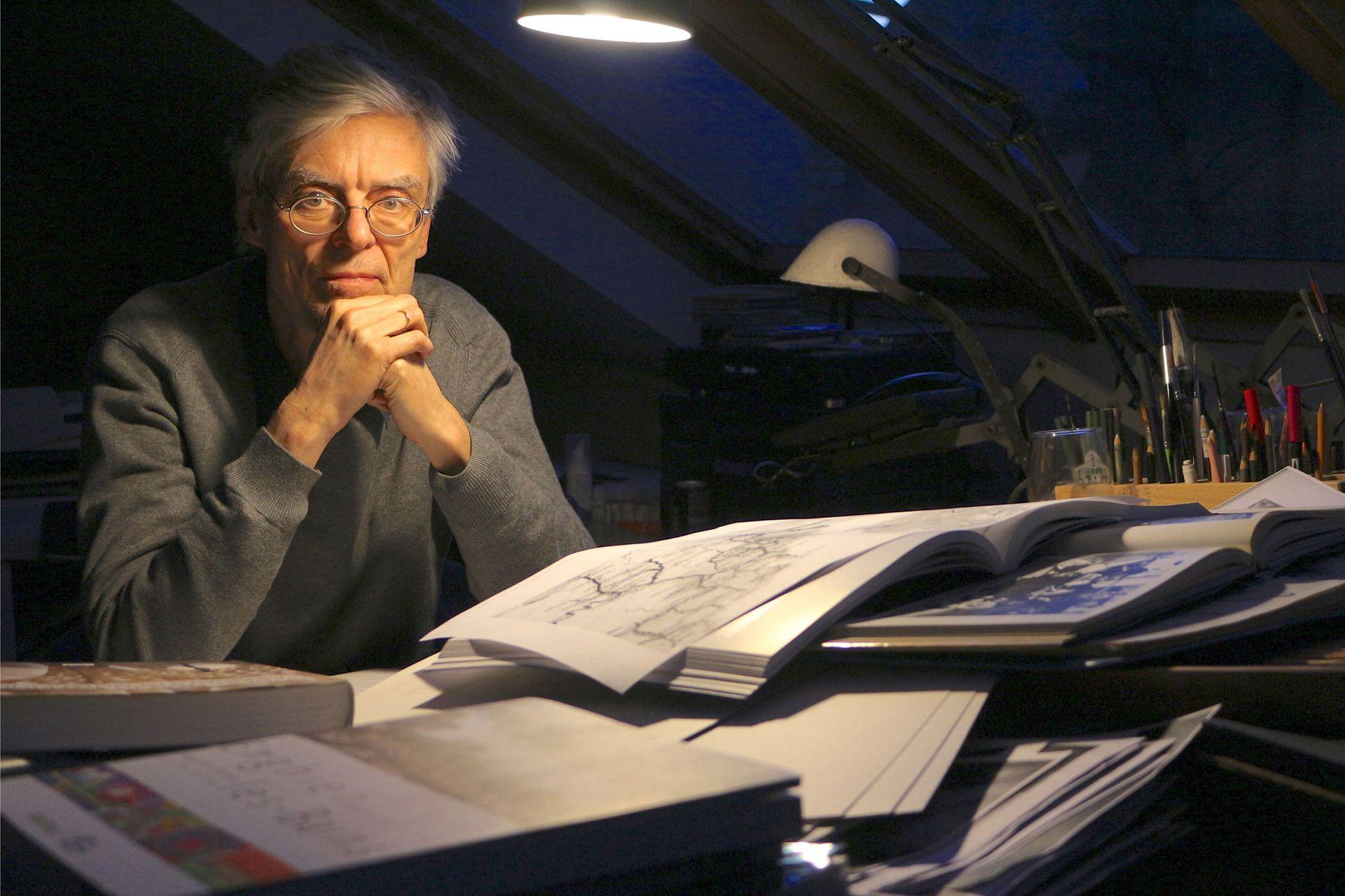 François Schuiten by Charles Sigel - RTS