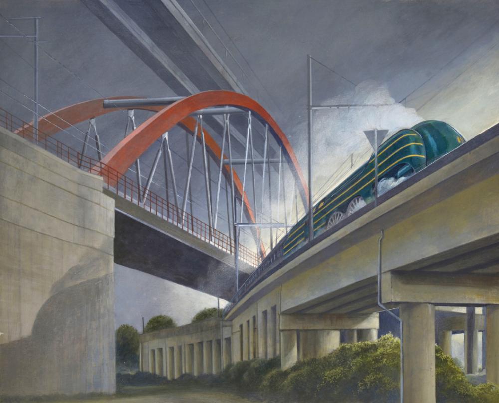 Schuiten Obolensky - Trains 03