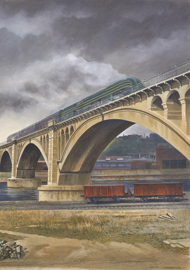 Schuiten & Obolensky - Trains 01