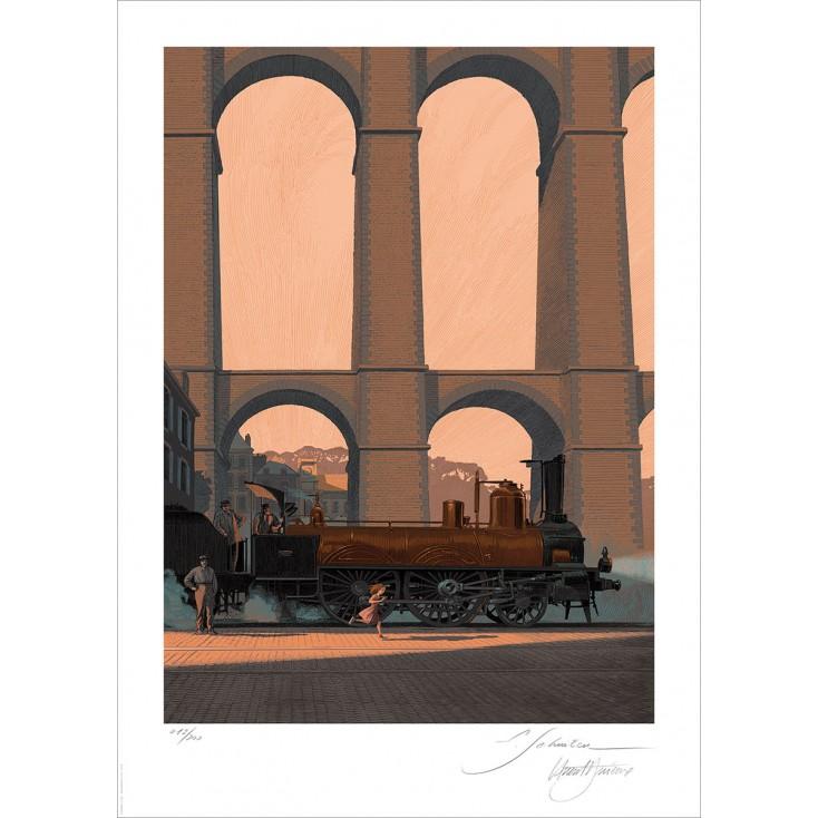 Bretagne Express by François Schuiten & Laurent Durieux