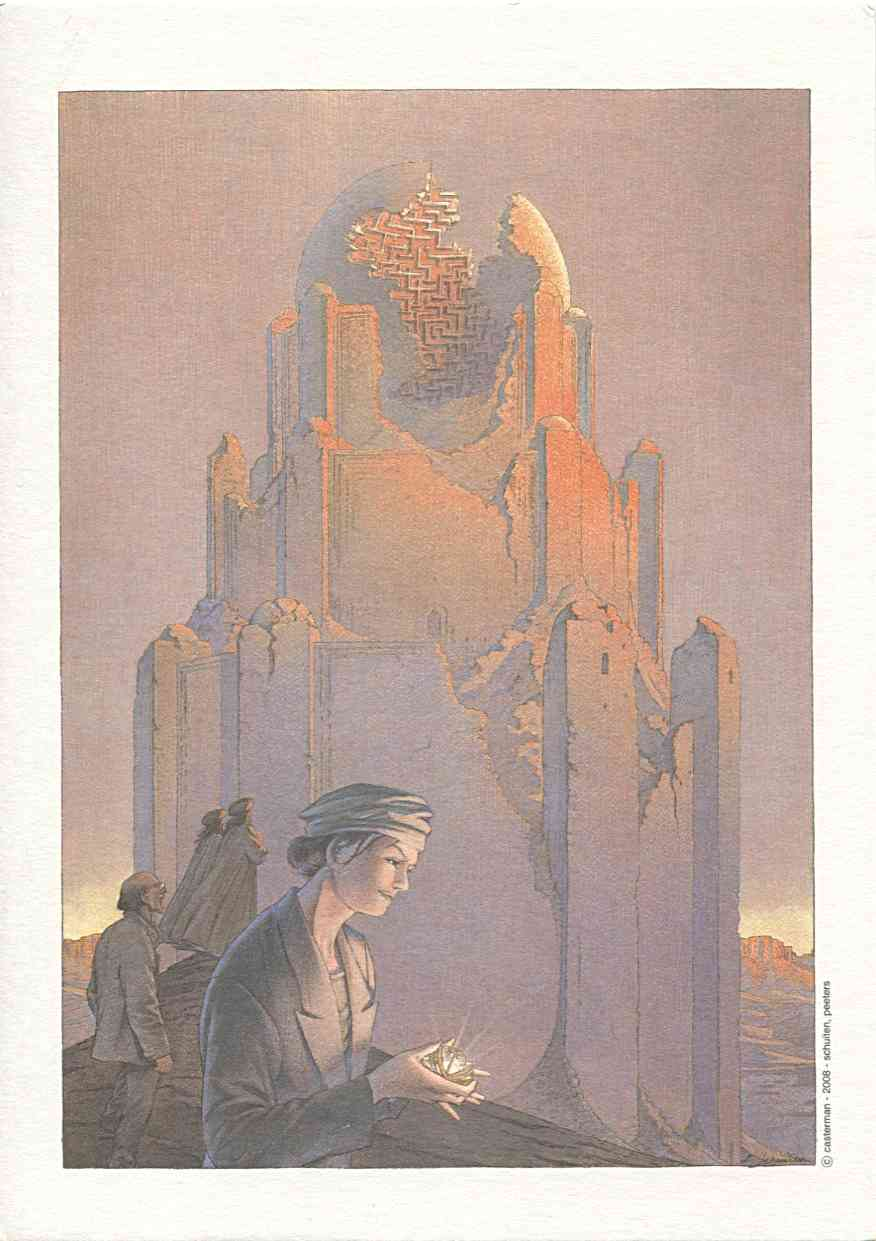 Ex-libris La Theorie du Grain de Sable
