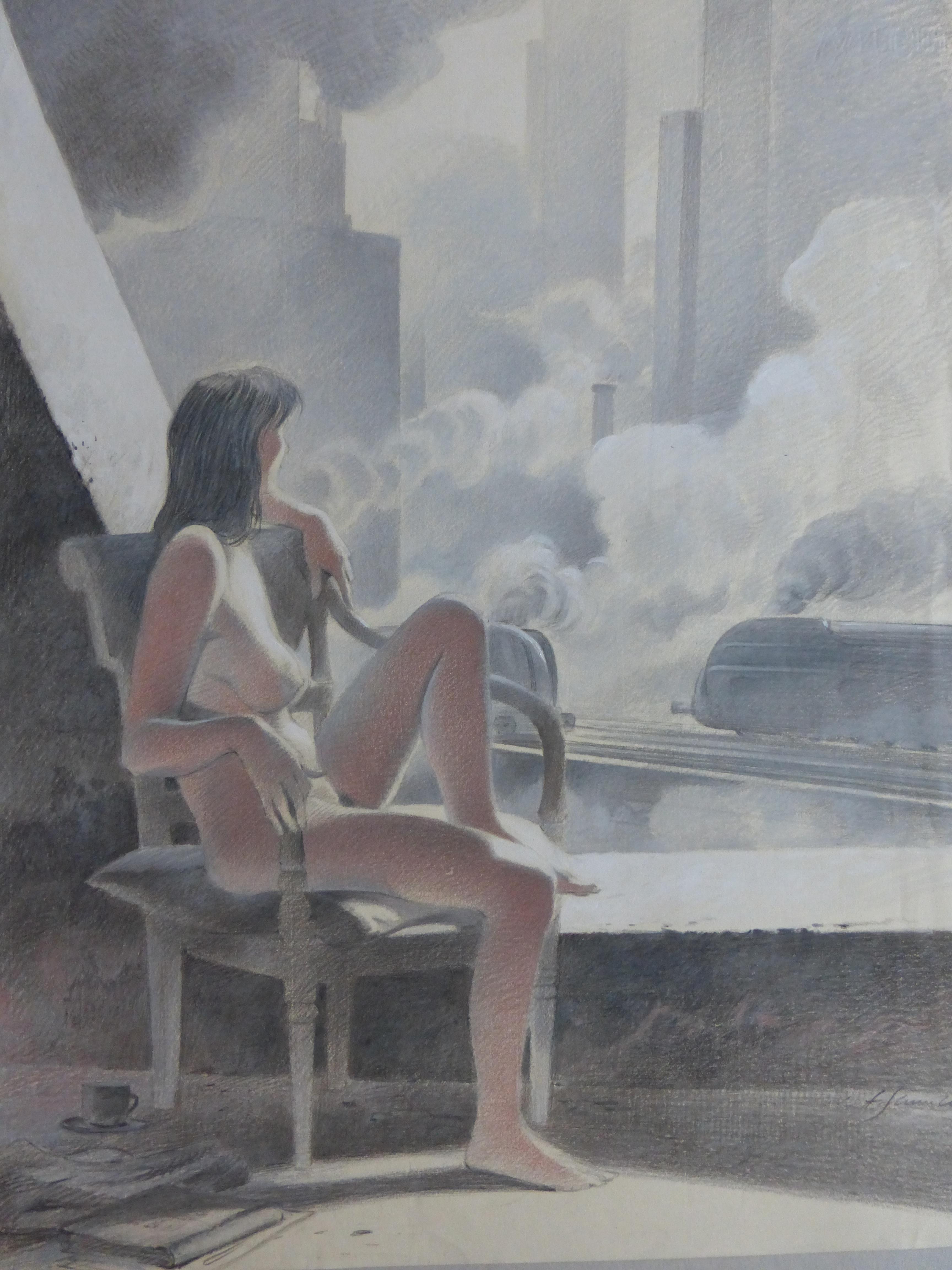 12 - La Douce: Fille à la fenêtre