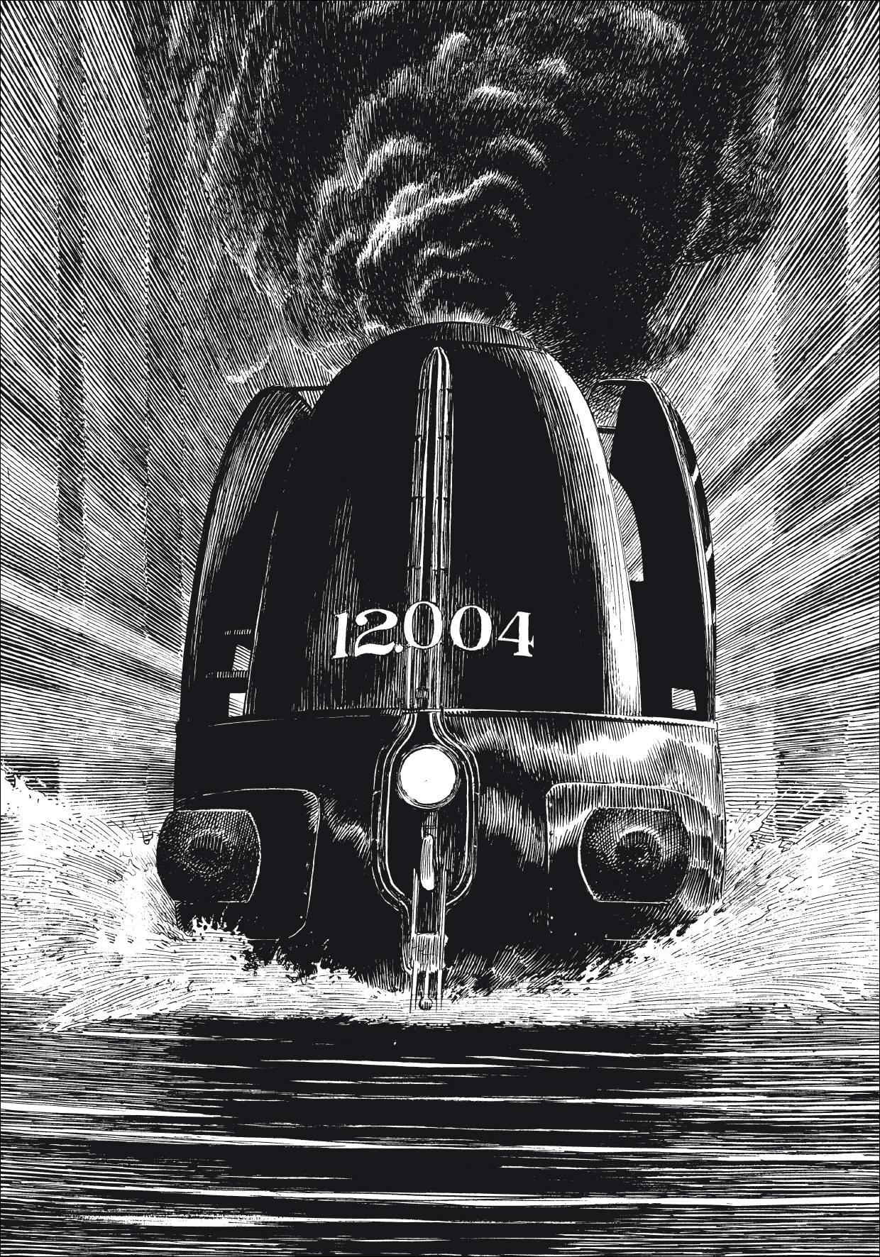 La Type 12 - À pleine vapeur by François Schuiten