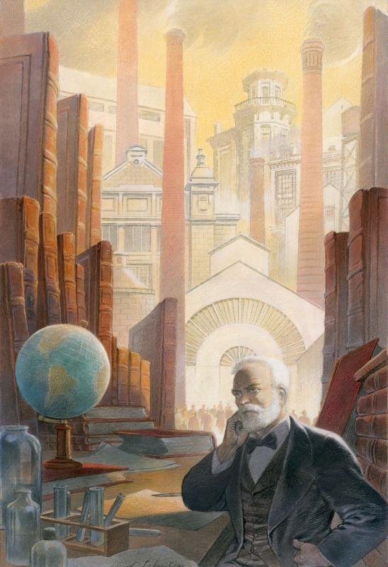 Ernest Solvay et Son Temps