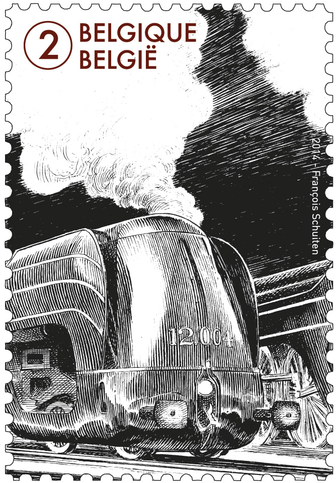 Le monde du train 2014 by François Schuiten