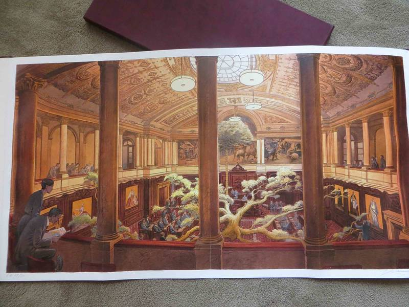 Senate by François Schuiten