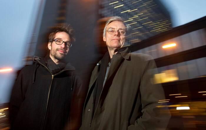 |François Schuiten and Martin Villeneuve