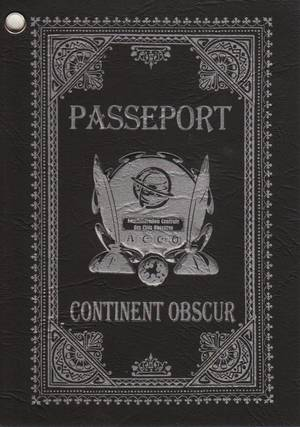 Passeport Continent Obscur cover