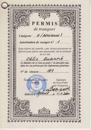 Passeport Continent Obscur p4
